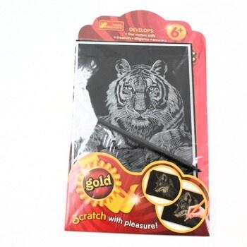 Vyškrabovací obrázek Ranok Creative tygr