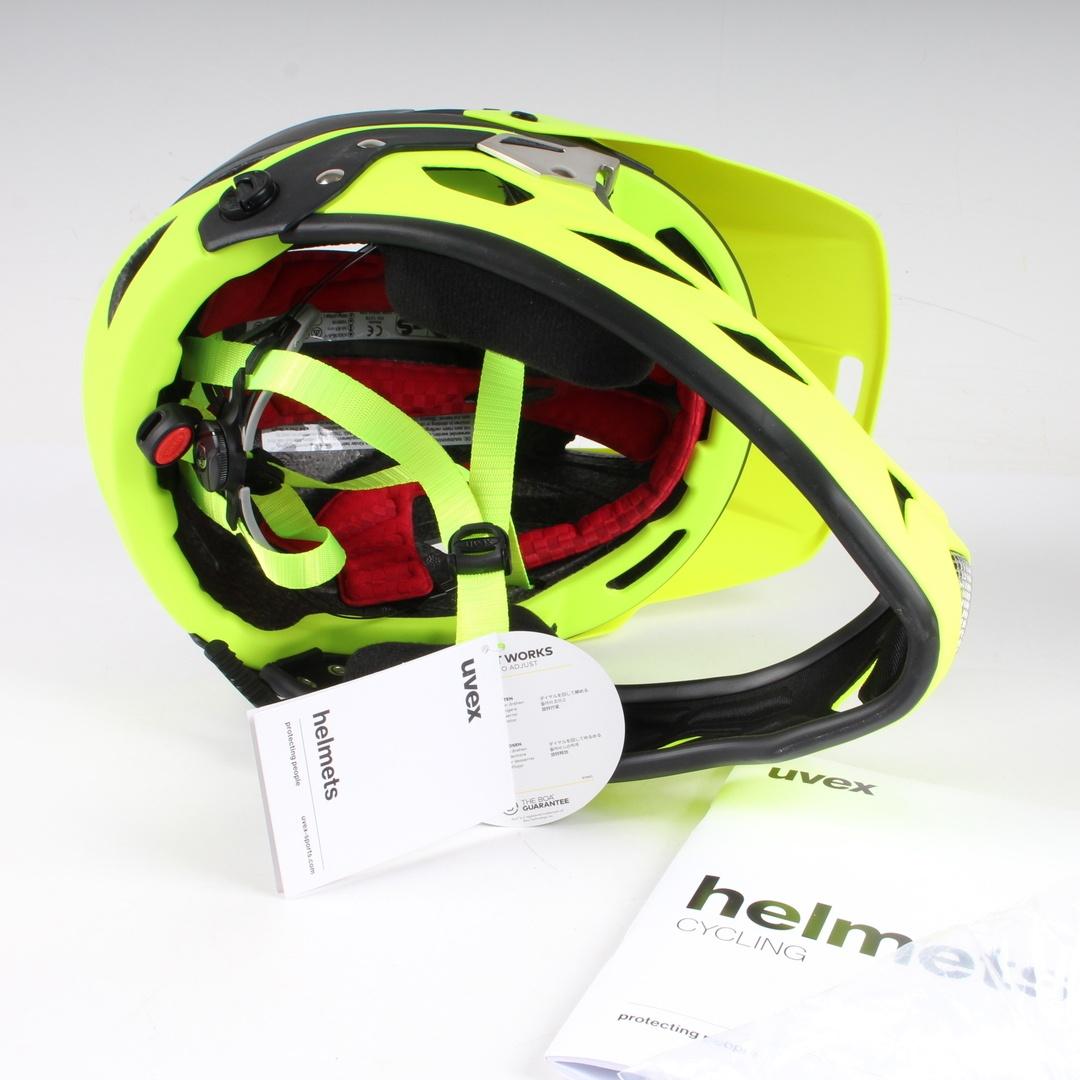 Helma Uvex akkyl hde - grey neon mat