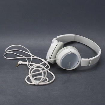 Náhlavní sluchátka Sony MDR-ZX310 bílá