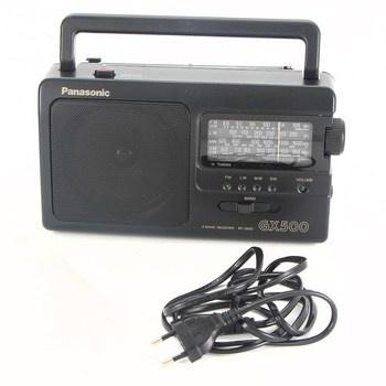 Přenosné rádio Panasonic RF-3500-E9-K černé