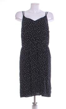 Dámské letní šaty F&F černé se vzorem