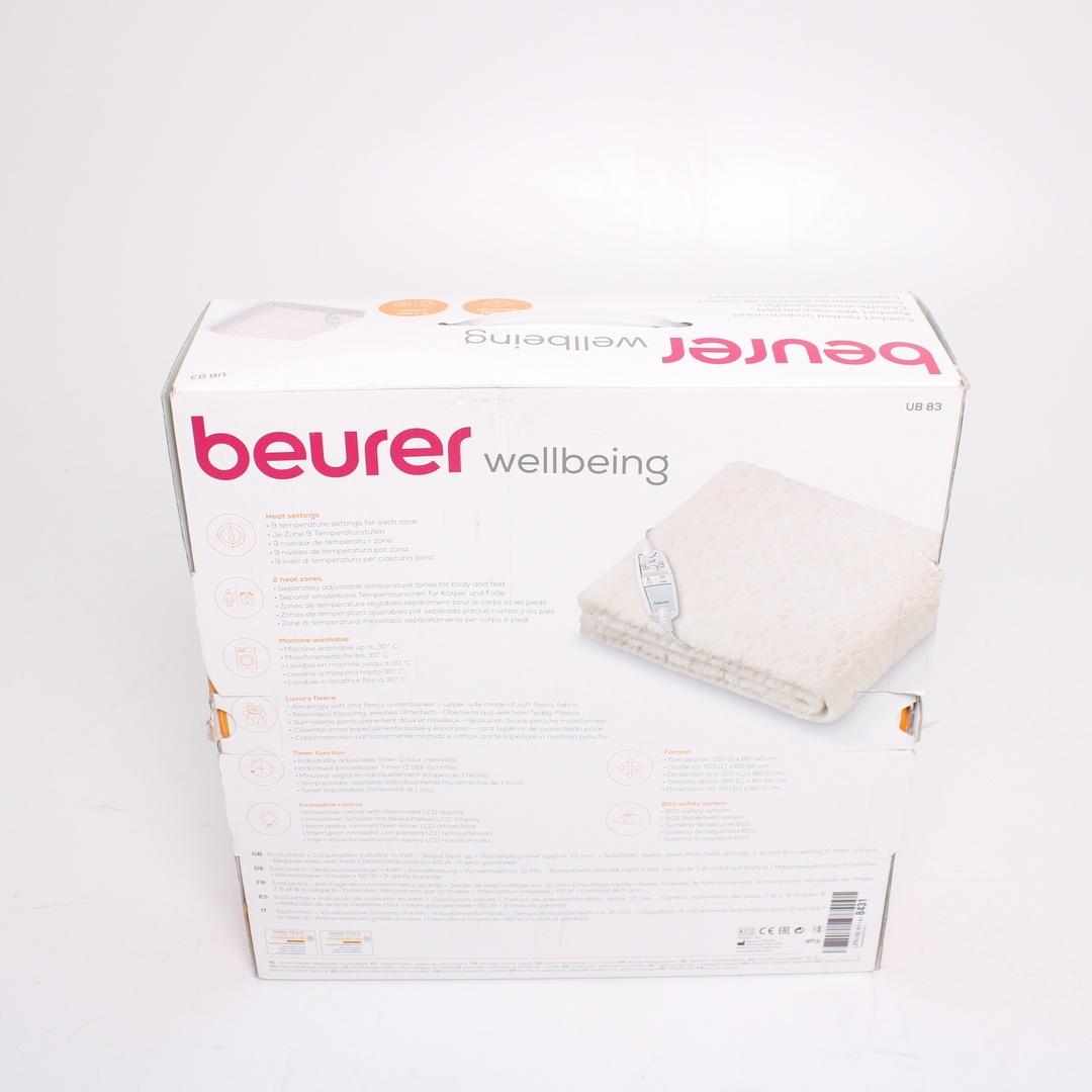 Elektrická dečka Beurer Cosy UB83