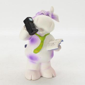 Dětská kasička kravička s telefonem