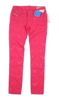 Dívčí plátěné kalhoty Diesel