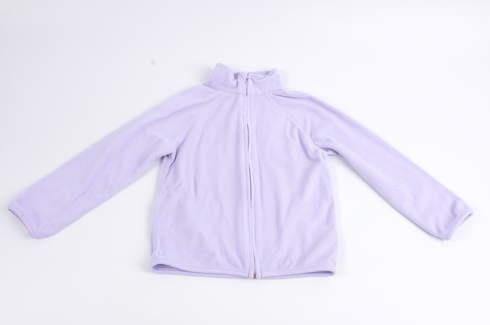 Dětská mikina Okay fialové barvy na zip