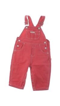 Dětské lacláče GAP červené barvy