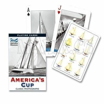 Karty plachetnice Piatnik America's Cup