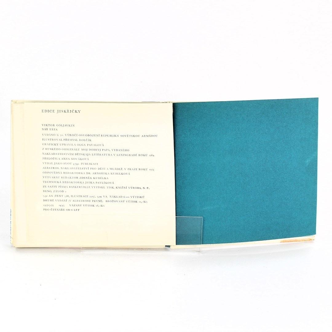 Kniha Náš táta Viktor Goljavkin