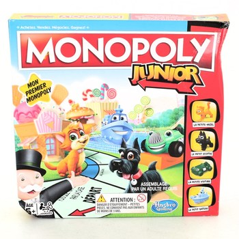 Hra Hasbro Gaming Monopoly junior