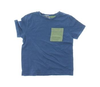 Dětské tričko F&F modré s kapsičkou