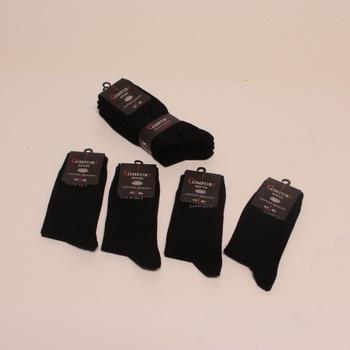 Pánské ponožky Sockenkauf24 10 párů černé