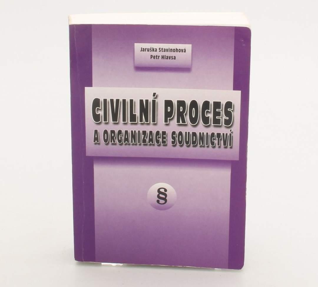 Kniha Civilní proces a organizace soudnictví