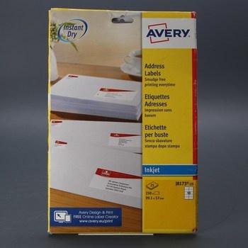 Štítky Avery J8173 25 kusů
