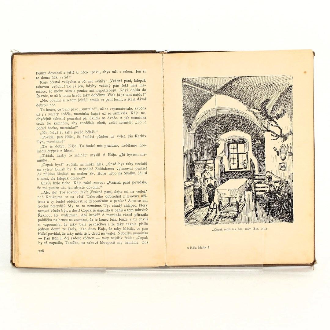Kniha Felix Háj: Školák Kája Mařík 1. díl