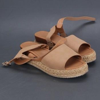 Dámské sandále Hitmars vysoká podrážka