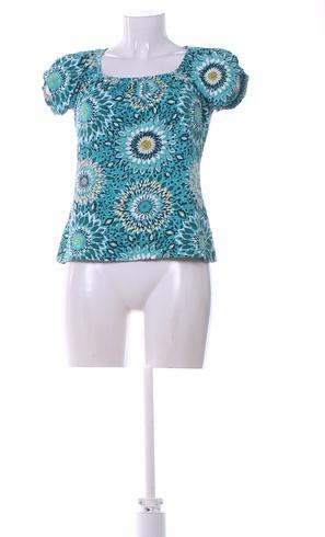 8c929a6784ad Dámské tričko Tom Tailor odstín modré - bazar