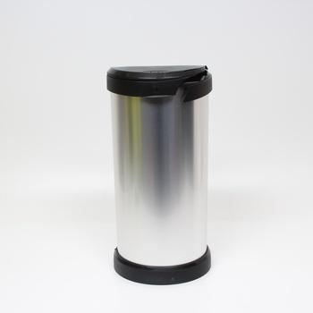 Odpadkový koš Curver 40L nerez