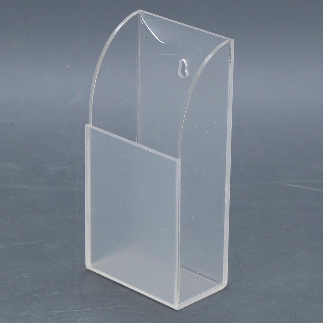 Závěsný box plastový 12 x 7 x 4 cm