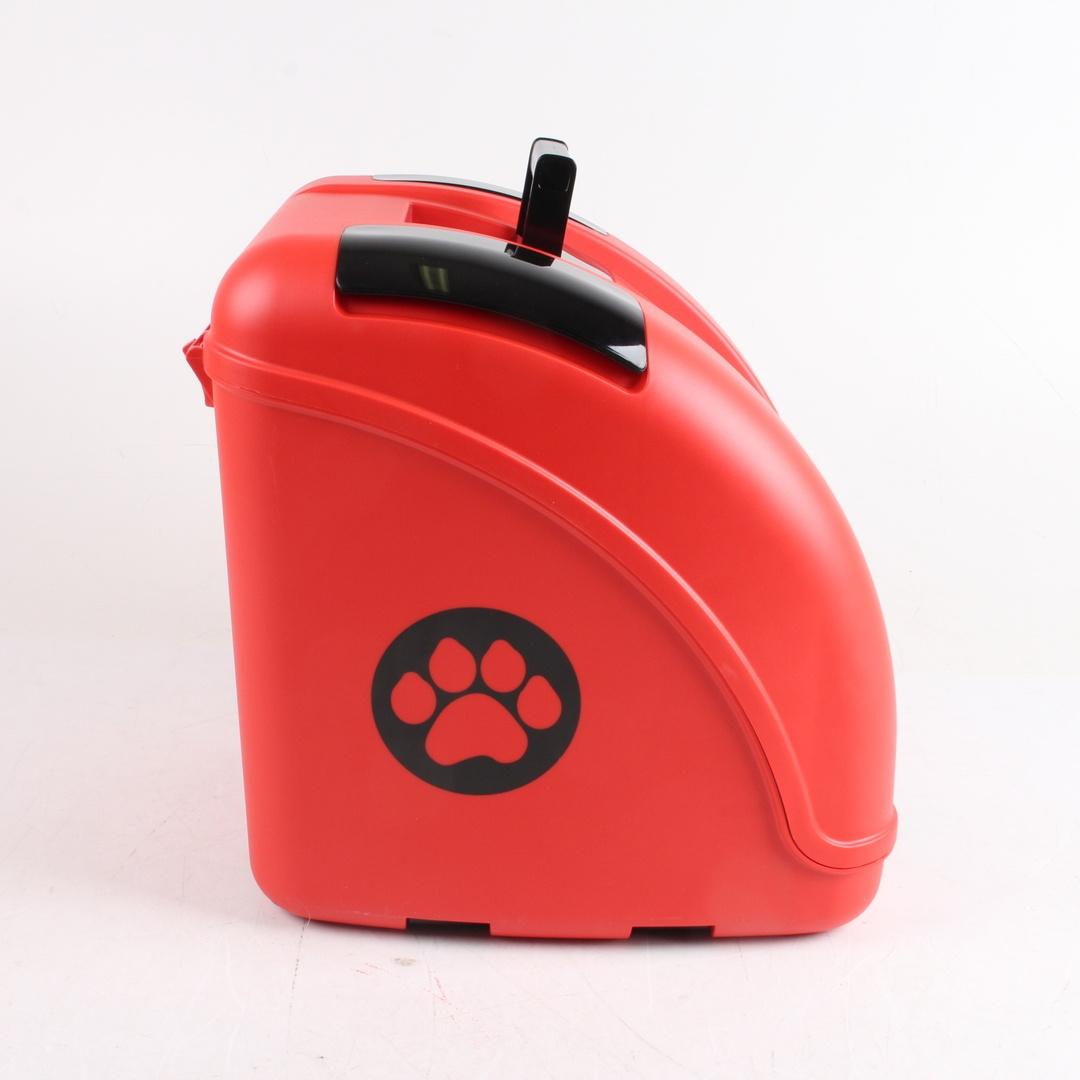 Cestovní box pro psy a kočky POW červený