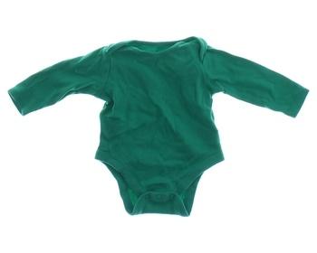 Kojenecké body F&F odstín zelené