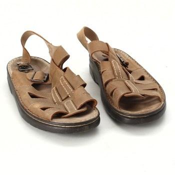 Pánské sandále Marco Tozzi hnědé
