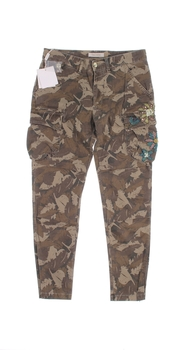 Dámské plátěné kalhoty Fracomina kapsáče