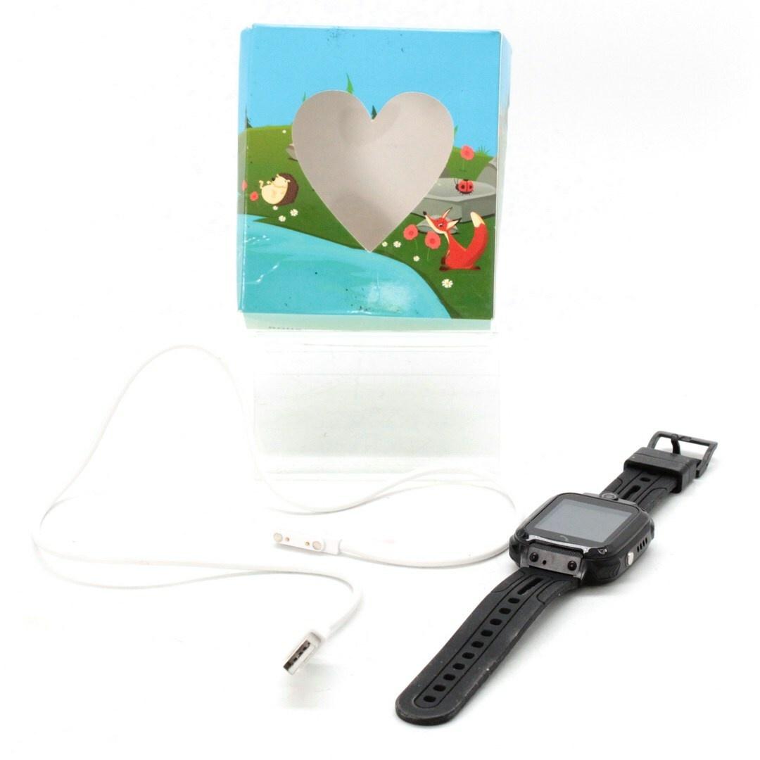 Chytré hodinky Smart Watch černé