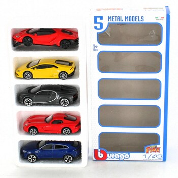Sada autíček BBurago 30007