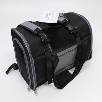 Cestovní taška Trixie Connor černo šedá