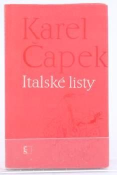 Karel Čapek : Italské listy
