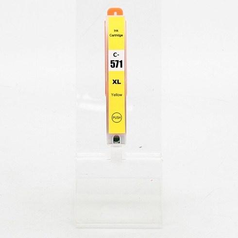 Inkoustová kazeta C-571 žlutá