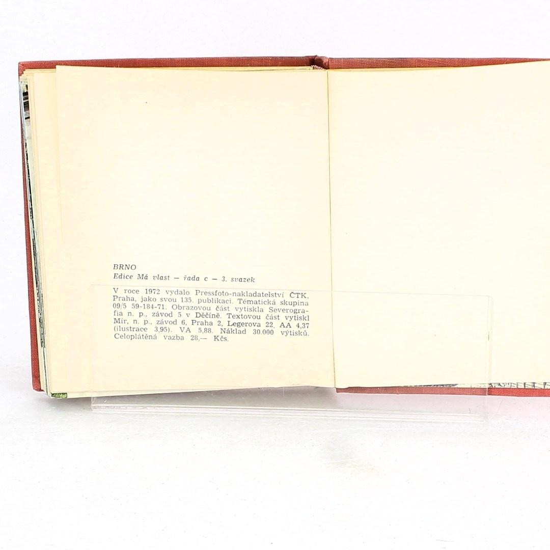 Kniha Brno a okolí - Dalibor Kusák