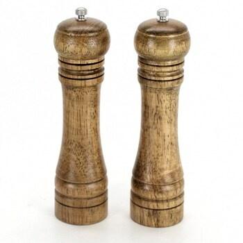 Sada dřevěných mlýnků 2 kusy
