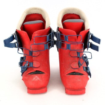 Dětské lyžáky Dachstein červené