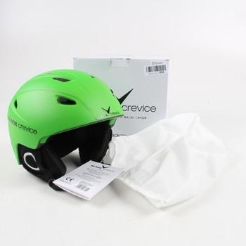 Lyžařská helma Black Crevice zelená