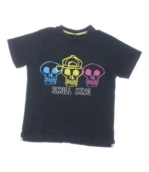 Dětské tričko Next černé Skull King
