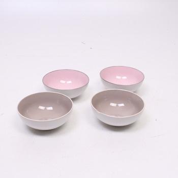 Porcelánové misky dvě barvy