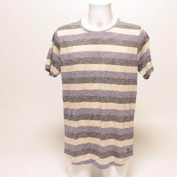 Pánské tričko Solid Thicco pruhované