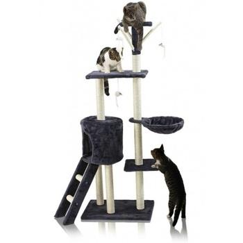Škrabadlo pro kočky šedé barvy