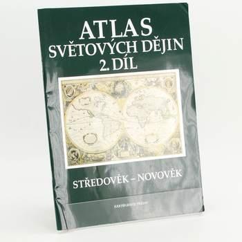 Kniha Atlas světových dějin 2.d