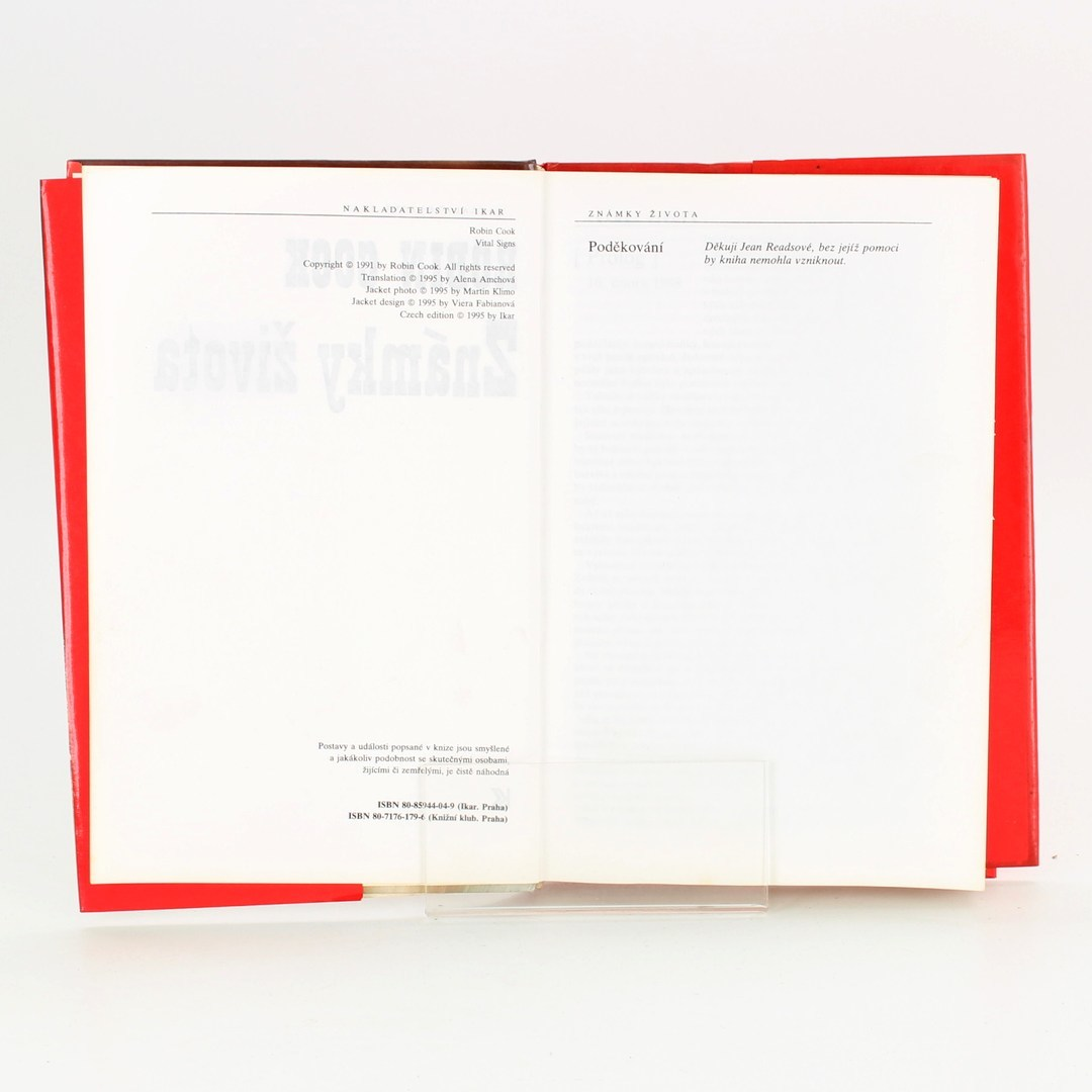 Kniha Známky života - Robin Cook