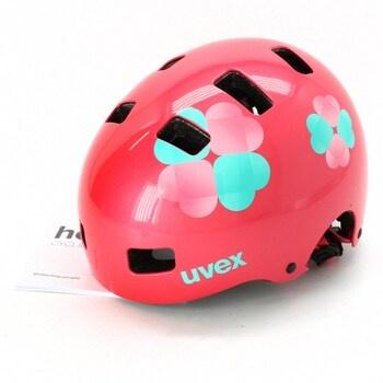 Dětská cyklistická přilba Uvex růžová