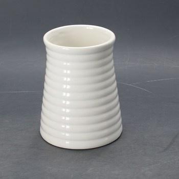 Keramická váza TRvancat bílá