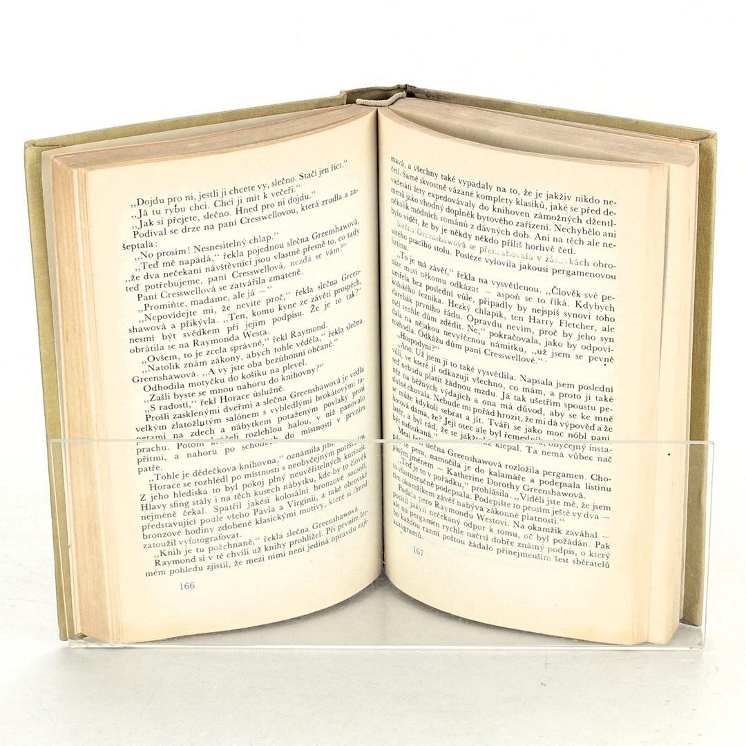Kniha Agatha Christie: Muž v mlze