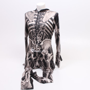Karnevalový kostým Morphsuits kostlivec