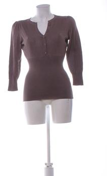 Dámský letní svetřík Orsay hnědý