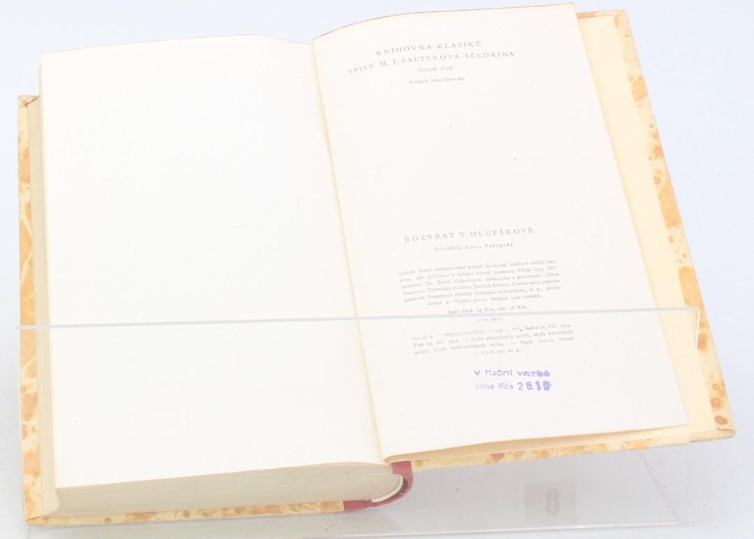 Kniha M. J. Saltykov-Ščedrin: Rozvrat v hlupákově