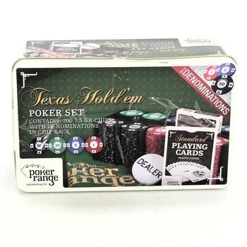 Poker sada Poker range Texas Hold'em
