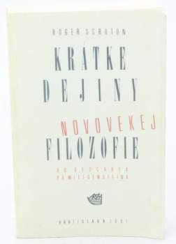 Kniha R.Scruton: Kratke dejiny novovekej filozofie