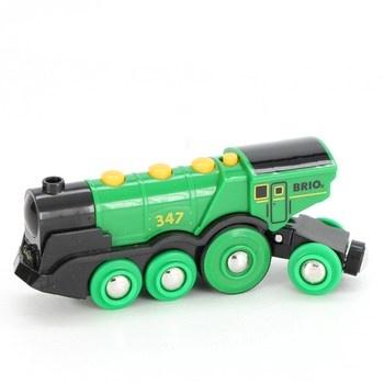 Lokomotiva Brio 33593 zelené barvy